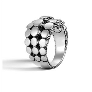 NEW - John Hardy sterling silver ring